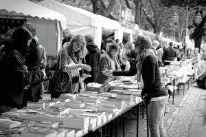 Second-hand bookmarket on Koenigsallee