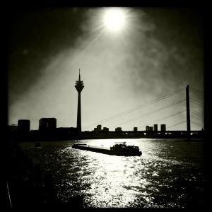 Backlit Rhine